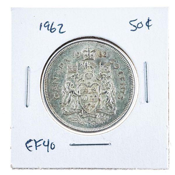 1962 Canada Silver 50 cents