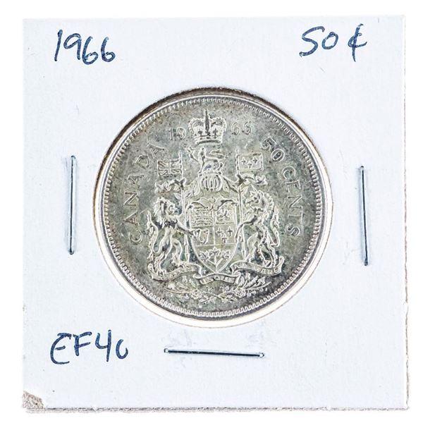 1966 Canada Silver 50 Cents