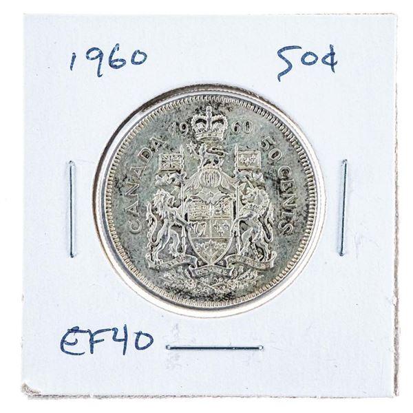 1960 Canada Silver 50 cents