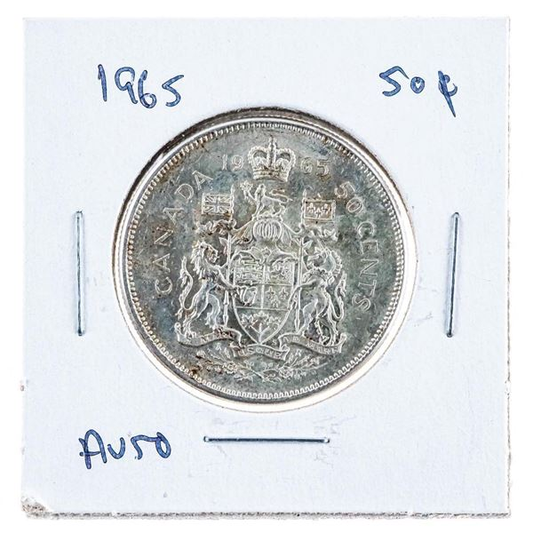 1965 Canada Silver 50 cents