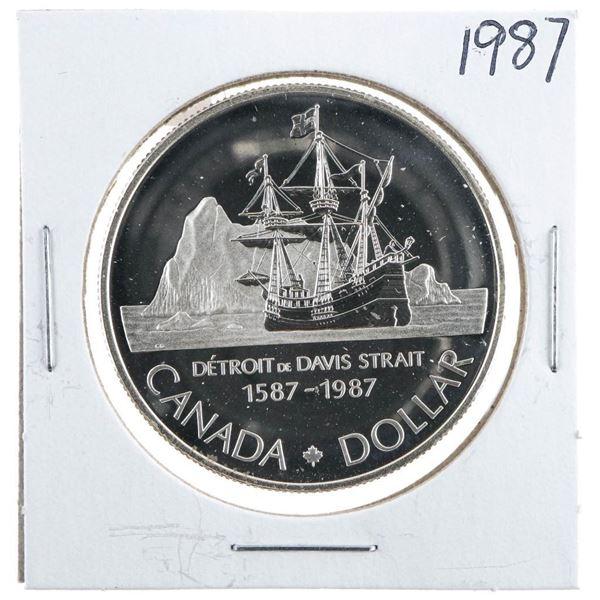 1987 Canada Silver Dollar