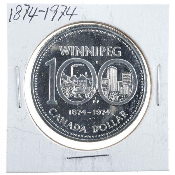 1974 Canada Silver Dollar