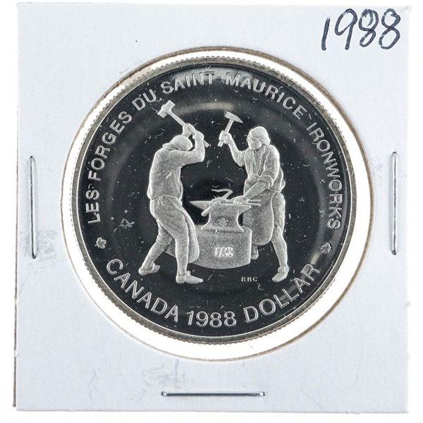 1988 Canada Silver Dollar