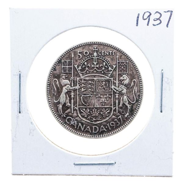 1937 Canada Silver 50 cents