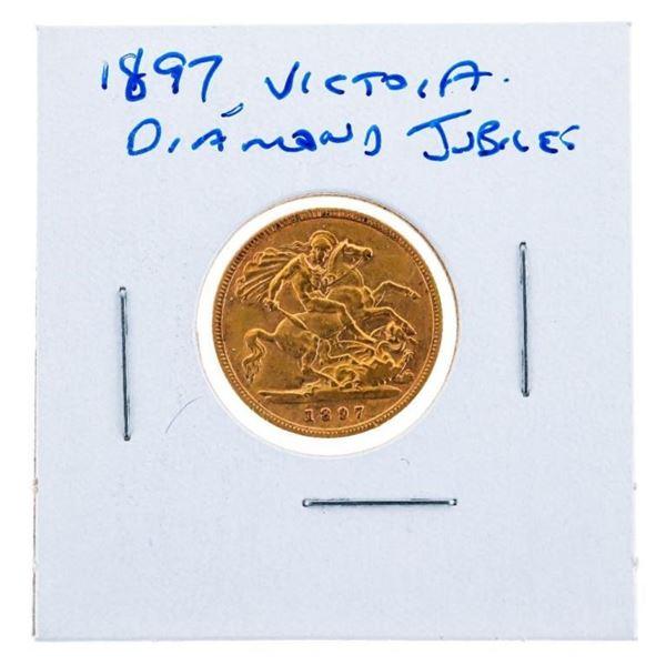 1897 Victoria Diamond Jubilee Gold Coin
