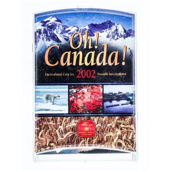 RCM OH Canada UNC. Coin Display 2002