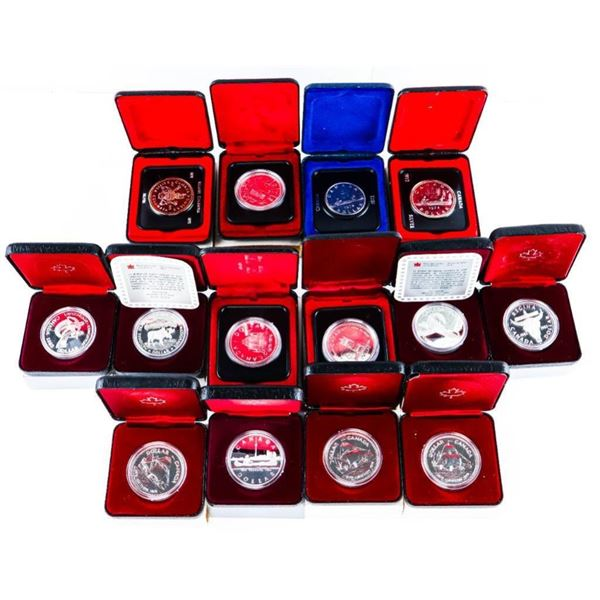 Lot 14 Cased RCM Silver Dollars