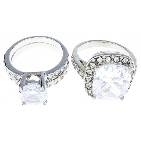 Lot 2 Lady's Rings Size 6