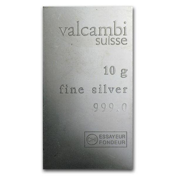 SUISSE .999 Fine Silver Bar