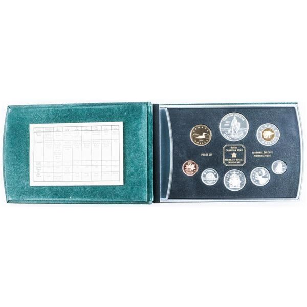 RCM 1998 Proof Coin Set - 125 Years RCMP in Silver