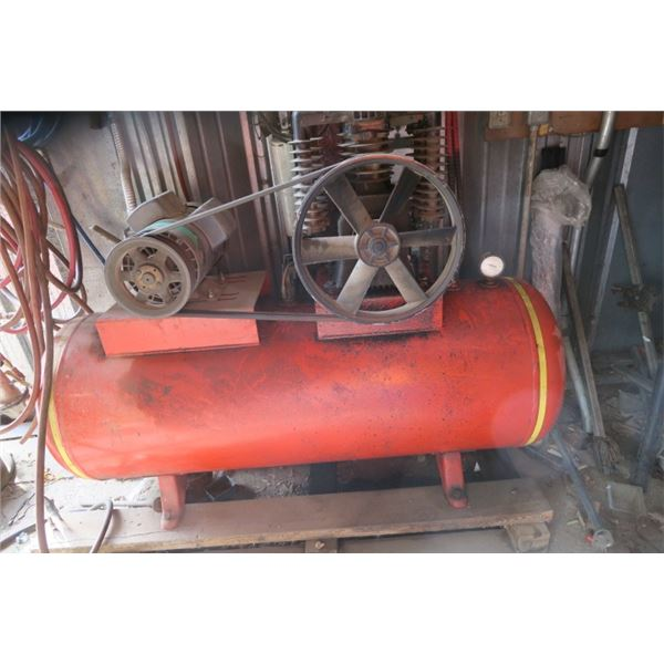 Large Air Compressor With Accessories
