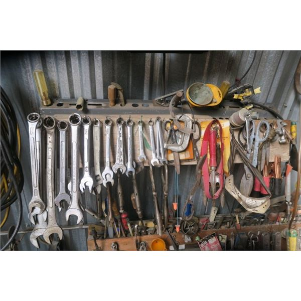Lot of Wrenches and Misc. Small Hand Tools