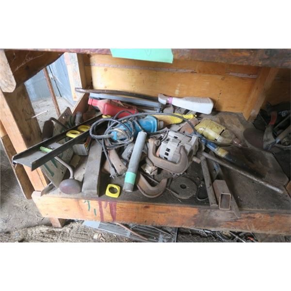 Lot of Tools and Misc. Items Including Clamps, Electric Motor and More!