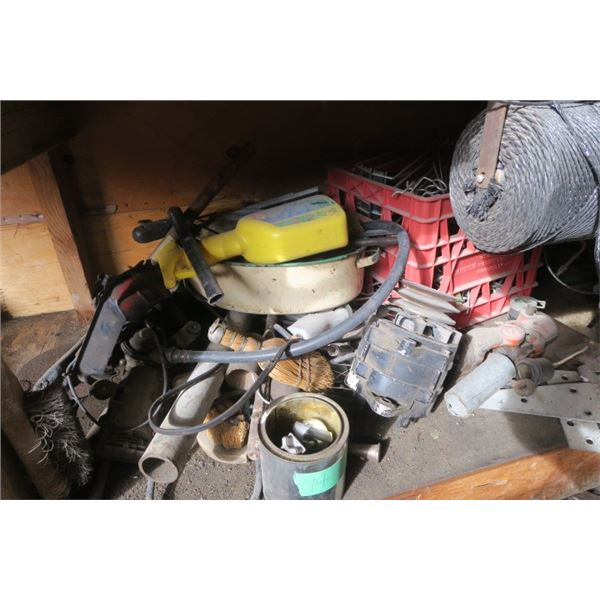 Lot of Tools and Misc. Items including Electric Motor and More