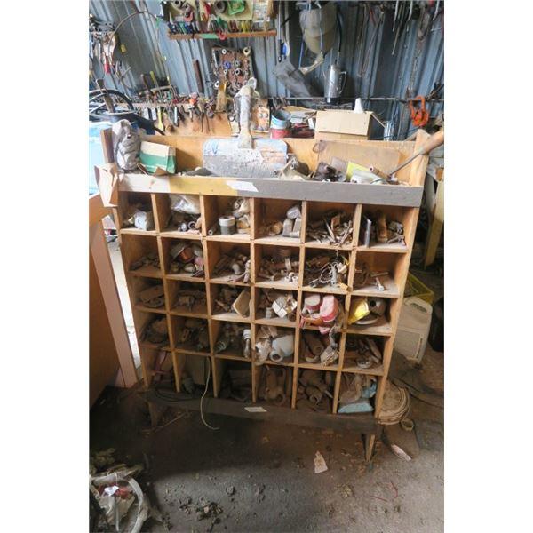 Large Shop Organizer Including Content
