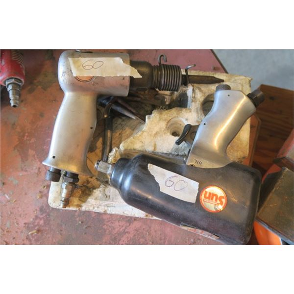 Impact Wrench and Air Hammer