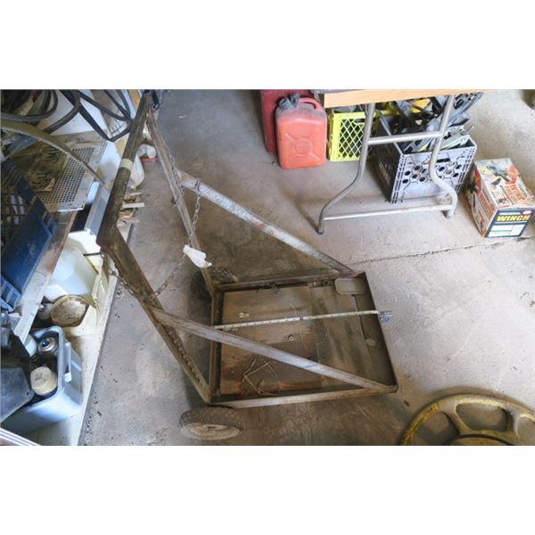 Gas Tanks / Welding Cart