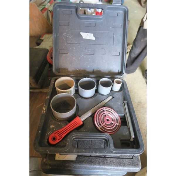 Hole Saw Kit in Case