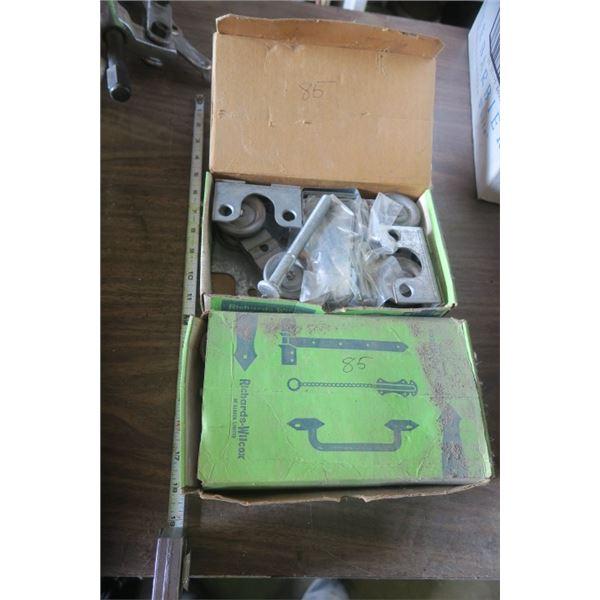 2 Boxes of Barn Door Hardware