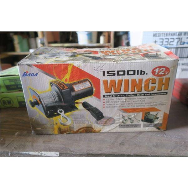 1500LB Bada Winch New In Box