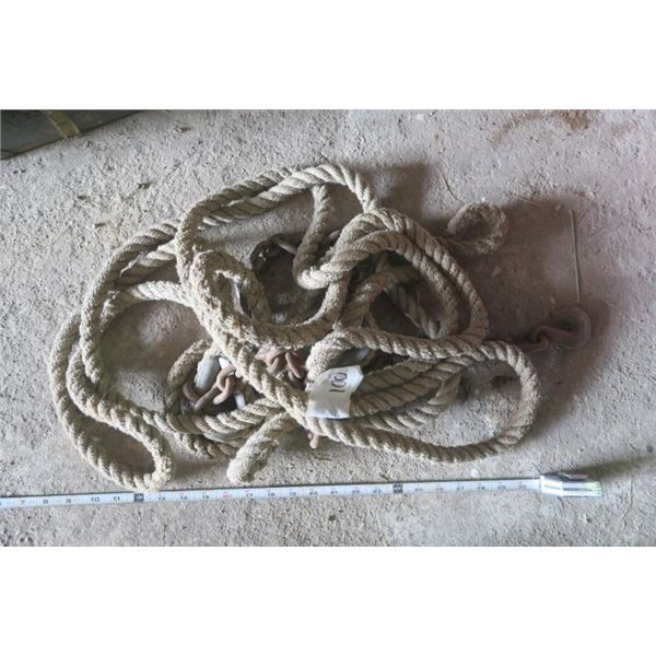 Heavy Rope and Chain