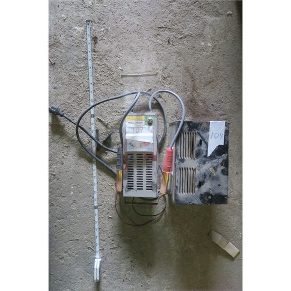 Battery Tester and Battery Charger
