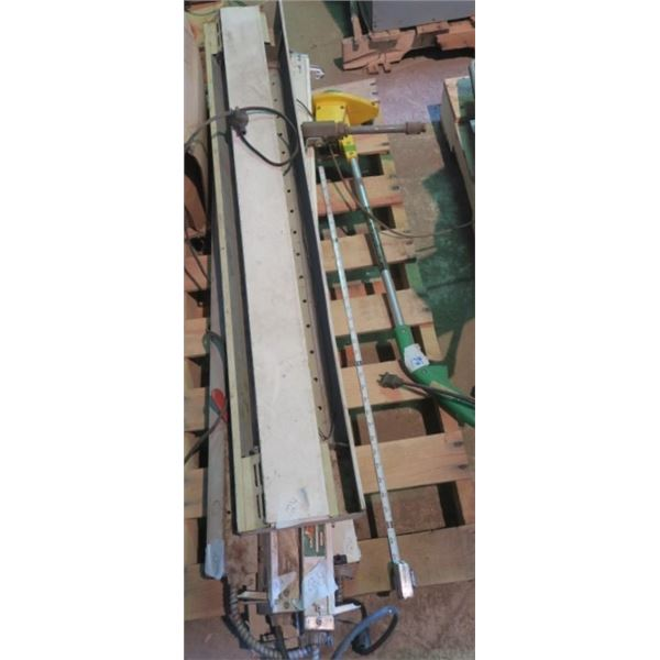 Baseboard Heater, Light Ballasts and Small Weed Whip