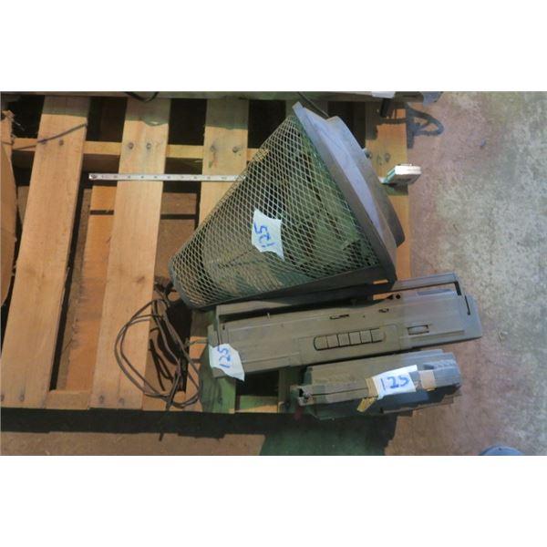 Bug Zapper and 2 Vintage Radios