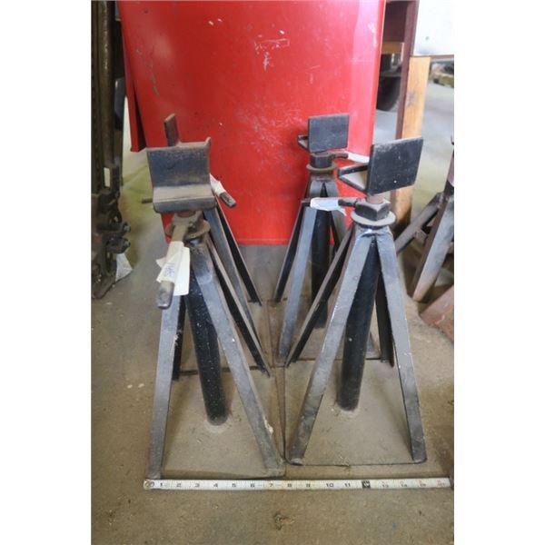 Set of 4 Jack Stands