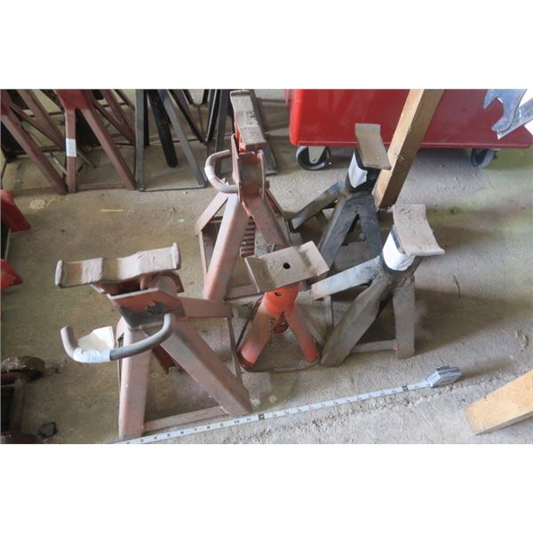 Mixed Set of 5 Jack Stands