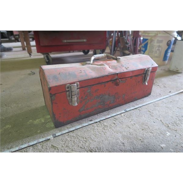 Small Tool Box With Contents