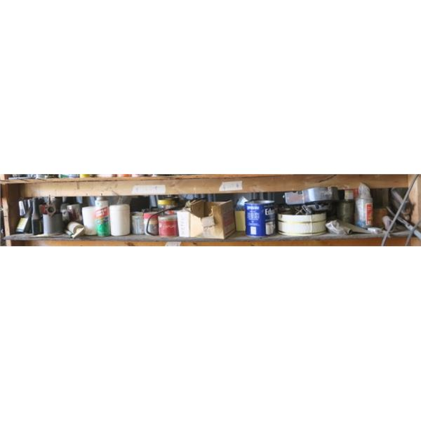 Shelf of Contents, Misc. Shop Supplies, Anti-Gel and More