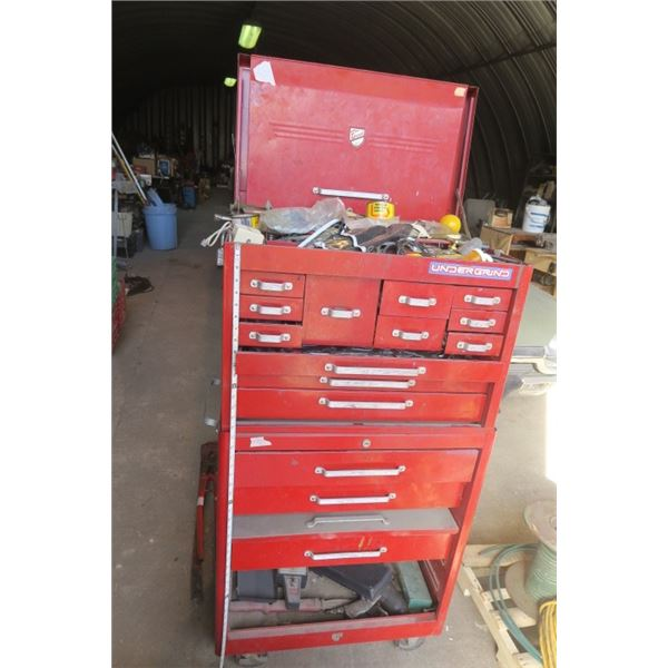 Large Tool Box With Contents