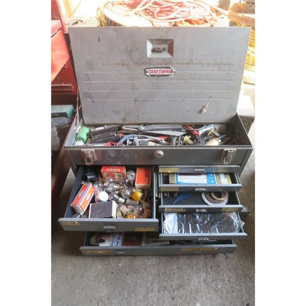 Craftsman Toolbox With Content