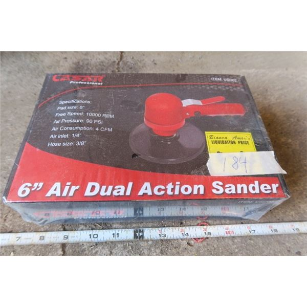 "6"" Dual Action Sander"