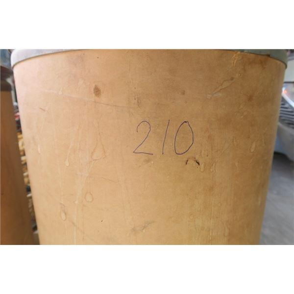Shop Barrel w/ Rags or Fabric