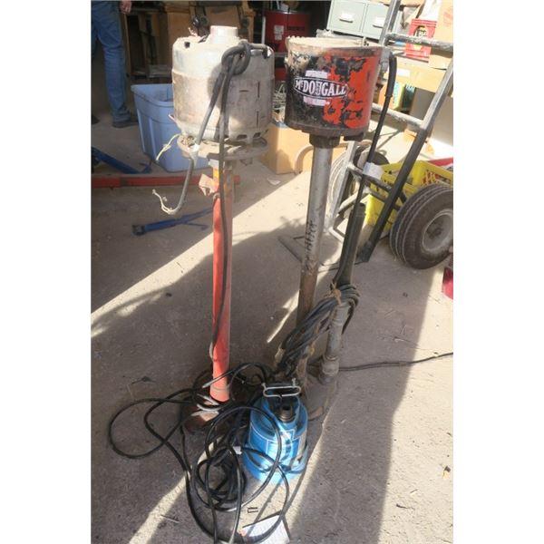 3 Water Pumps