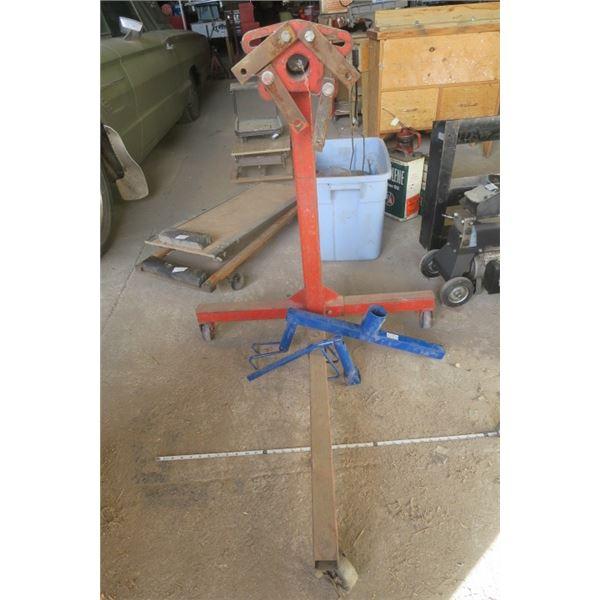 Wheeled Engine Stand