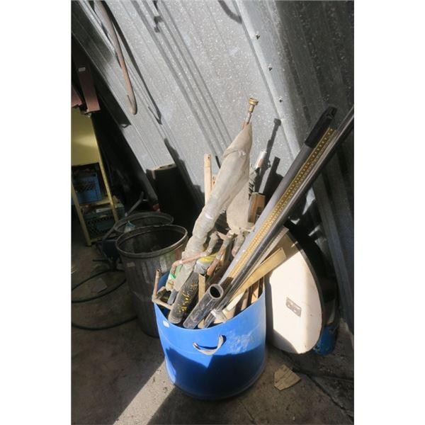 1/2 Barrel of Misc. Items