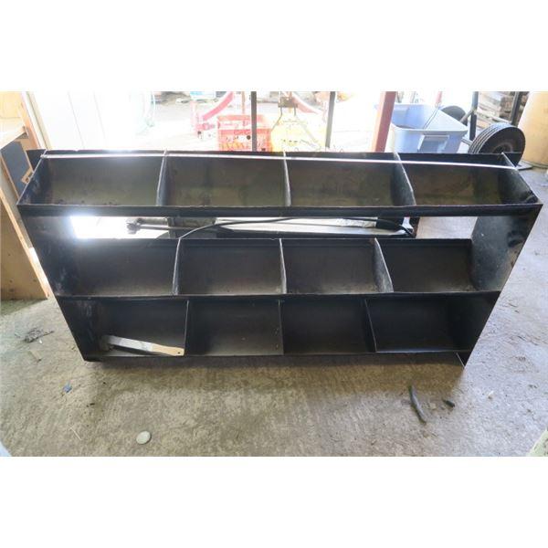Large Rounded Bottom Shop Shelf