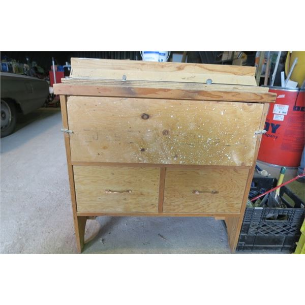Custom Router Table With Storage