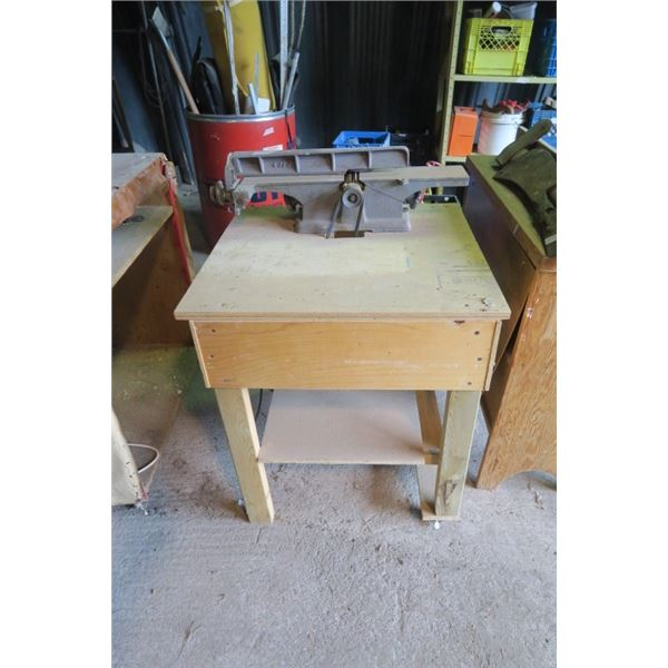 Joiner / Planer on Rolling Stand