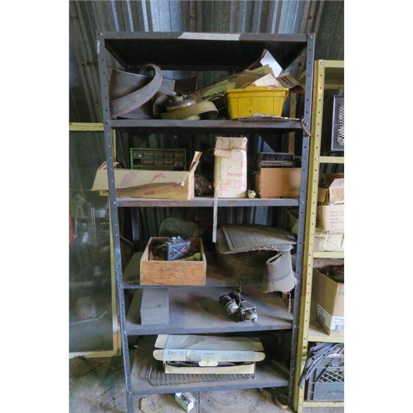 Shelf Including Contents