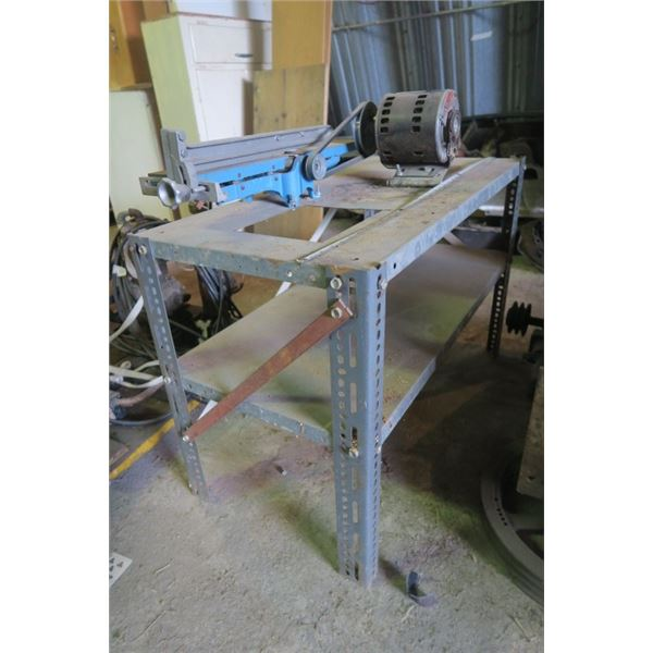 Stand With Jointer Planer