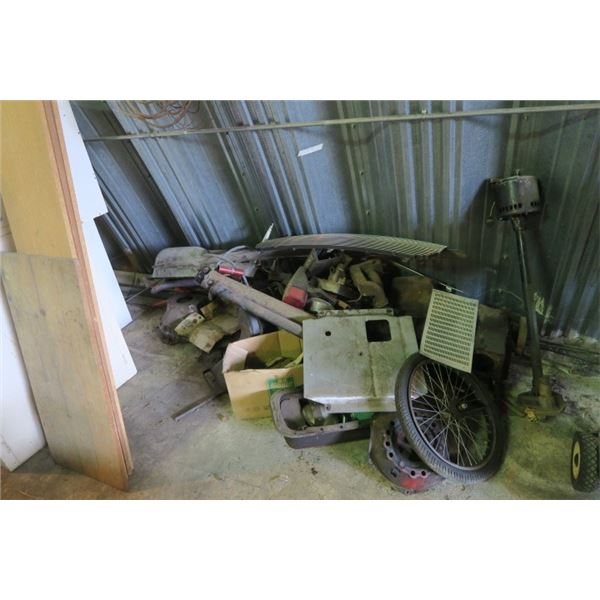 Large Pile of Misc. Items Metal and Other Parts