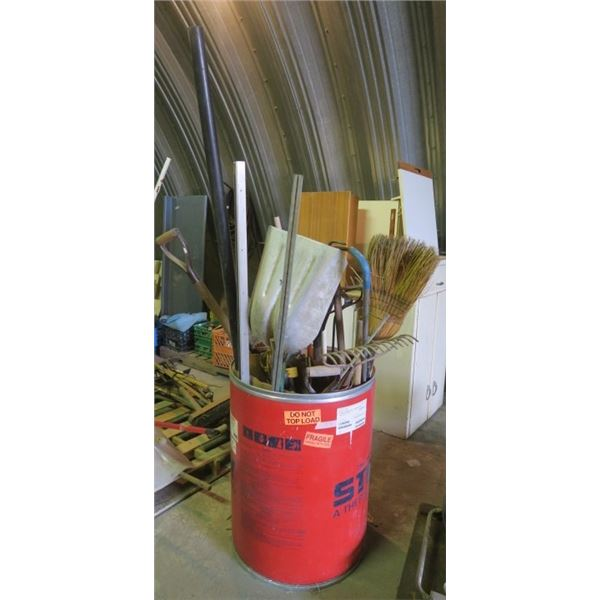 Large Barrel of Misc. Hand Tool Parts