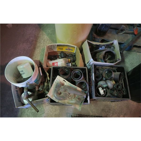 Large Lot of Misc. Plumbing, Mostly PVC