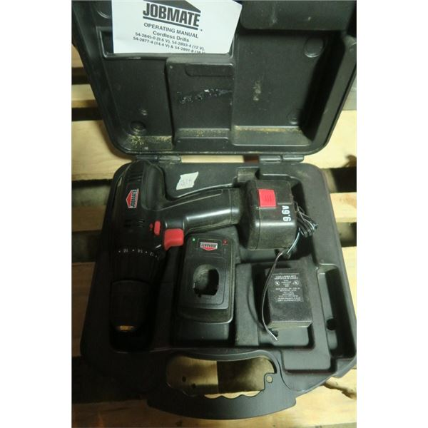 Jobmate Drill, Charger and Battery