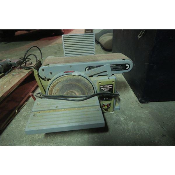 """4X36"""" Belt and Disc Sander"""