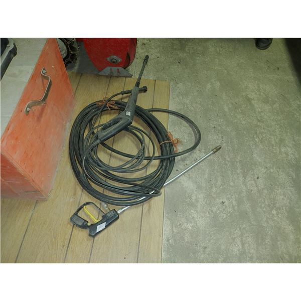 Pressure Washer Hose And Wands